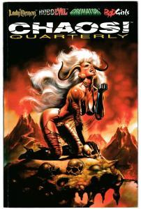 Chaos Quarterly #2 Lady Demon / Cremator / Robo-Evil (1996) FN