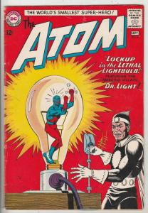 Atom, The #8 (Sep-63) VG/FN Mid-Grade The Atom
