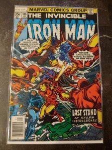 IRON MAN #106 FINE+