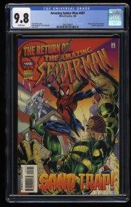 Amazing Spider-Man #407 CGC NM/M 9.8 White Pages