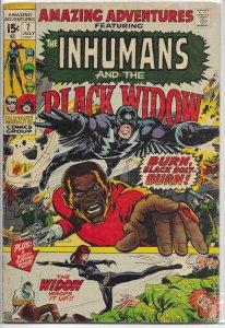 Amazing Adventures    vol. 2   # 7 GD Inhumans, Black Widow