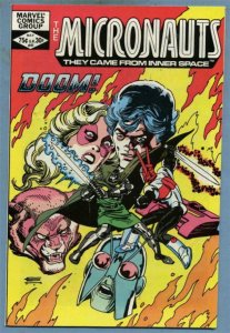 MICRONAUTS #41, VF/NM, Dr.Doom, Gil Kane, Marvel, 1979 1982  more in store