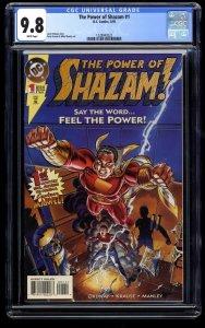 The Power of SHAZAM! #1 CGC NM/M 9.8 White