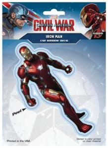 Captain America Civil War Iron Man Car Window Decal - New!