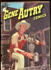 GENE AUTRY COMICS #13 1948-PHOTO COMICS-WEST-COWBOY G