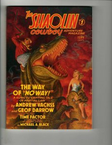 The Shaolin Cowboy Adventure Magazine # 1 TPB Graphic Novel Dark Horse Books EJ8