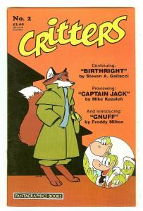 Critters 2   Fantagraphics