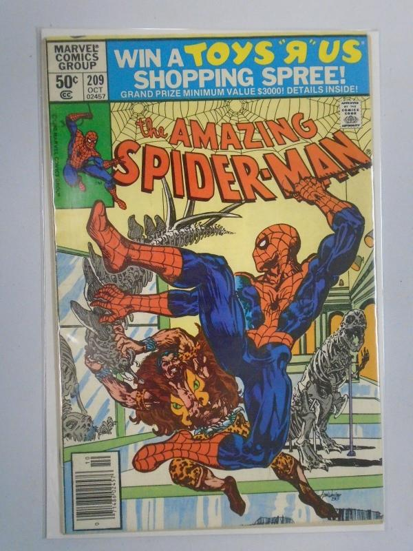 Amazing Spider-Man (1st Series) #209 Newsstand Edition 5.0 (1980)