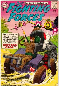 Our Fighting Forces #80 (Nov-63) VF+ High-Grade Gunner and Sarge, Pooch