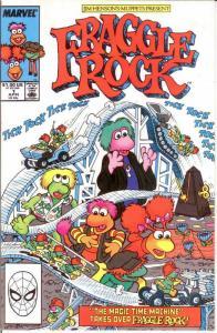 FRAGGLE ROCK (1988) 1 VF+ REPRINTS April 1985 COMICS BOOK