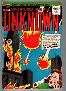 ADVENTURES INTO THE UNKNOWN #151-HORROR/SCI-FI-SILVER AGE-VG+ VG+