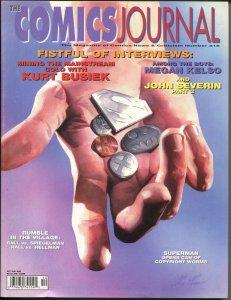 Comics Journal #216 1999-Fantagraphics-John Severin-Superman-Kurt Busiek-VF