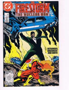 The Fury Of Firestorm The Nuclear Man #71 VF DC Comic Book DE7