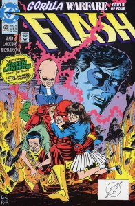 Flash (2nd Series) #69 VG; DC | low grade comic - save on shipping - details ins