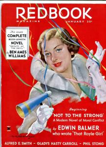 Red Book Magazine Newsstand Advertising Sign pulp item 1/34