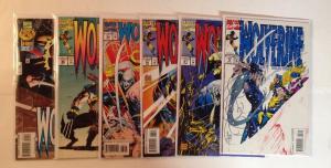 Wolverine 78 81 83 84 86 102 Near Mint Lot Set Run