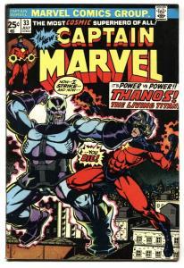 CAPTAIN MARVEL #33 CLASSIC THANOS COVER--Starlin art