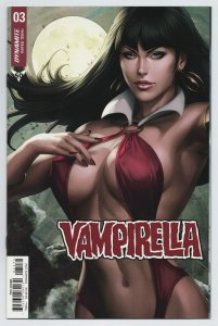 Vampirella #3 Artgerm 1:15 Sneak Peek Variant (Dynamite, 2019) NM