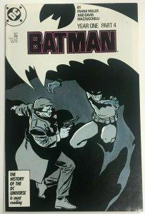 BATMAN#407 VF 1987 FRANK MILLER  DC COMICS