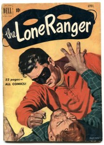 Lone Ranger Comics #34 1951- Dell Western VG-