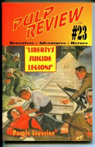 Pulp Review #23 1995- Operator #5 Liberty's Suicide Legions-VF