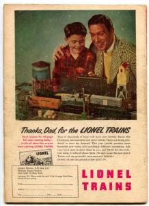Tex Granger #19 1948- Seven Secret Cities- Golden Age Western VG