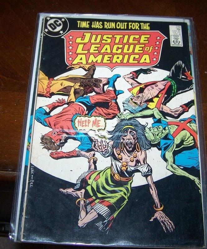 Justice League of America #249 (Apr 1986, DC) vibe steel gypsy vixen martian