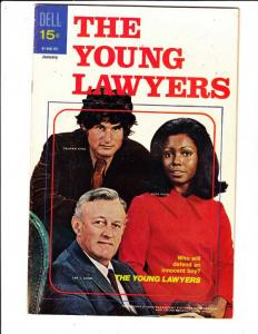 Young Lawyers, The #1 (Jan-71) VF High-Grade The Young Lawyers