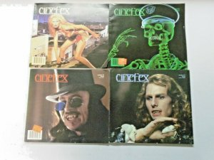 Cinefex Lot 8 Different Average 6.0 FN (1989-1995)