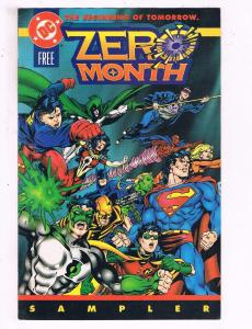 Zero Month #1 VF DC Comics Free Sampler Comic Book Superman DE19