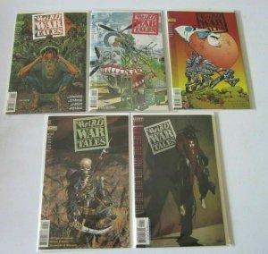 Weird War Tales set from:#1-4 + Special 5 different books 8.0 VF (1997)