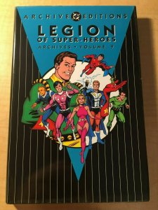 Legion of Super-Heroes Archives Vol. 9 DC Comic Book HARDCOVER Graphic MFT2