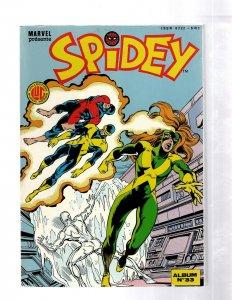 Spidey LUG Collection Super Heroes Marvel Presente FRENCH Comic ALBUM 33 J460