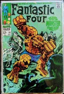 Fantastic Four #79 (1968) VG