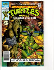 Teenage Mutant Ninja Turtles Movie 2 The Secret Of The Ooze 1991 Archie NM- J224