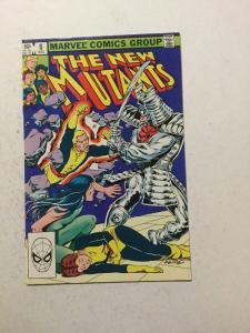 New Mutants 6 NM Near Mint
