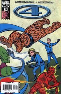 Marvel Knights 4 #24, NM- (Stock photo)