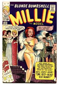 Millie The Model #129 comic book 1965-Marvel-high grade-fashion-paper dolls-vf+