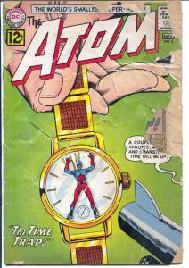 Atom #3 1962-DC-  #8 1961-DC-Time Trap 1st Time Pool Story-P