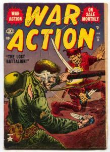War Action #11 1953- Lost Battalion- Attila the Hun VG-