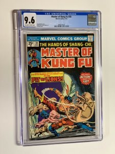 Shang-chi master of kung fu 30 cgc 9.6 ow/w pages marvel bronze age 021