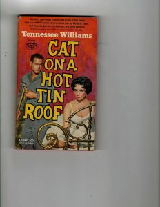 3 Books Cat on a Hot Tin Roof Dust of Death Hank Aaron 714 and Beyond! JK14