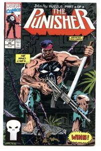 Punisher #40 1990 Marvel Jigsaw issue-comic book