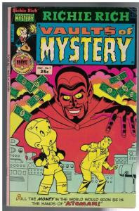 RICHIE RICH VAULT OF MYSTERY 7 VG Nov. 1975