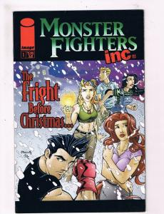 Monster Fighters Inc. #1 VF 1st Print Image Comic Book Before Christmas DE1