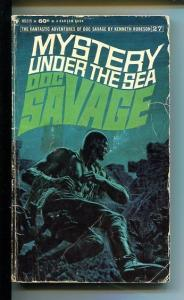 DOC SAVAGE-MYSTERY UNDER THE SEA-#27-ROBESON-G-JAMES BAMA COVER G