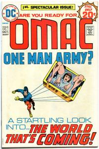 OMAC #1 2 3 4 5 6 7 8, FN+ to VF, Jack Kirby, 1974, 8 issues, One Man Army Corps