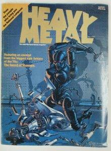HEAVY METAL  #1 (April, 1977) VERY GOOD (VG) Corben, Bode, Moebius