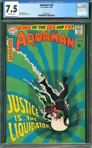 Aquaman #38 (DC, 1968) CGC 7.5