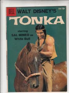 Four Color #966 (Feb-59) VF/NM High-Grade Sal Mineo as White Bull